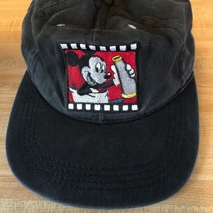 Black Mickey Mouse Hat